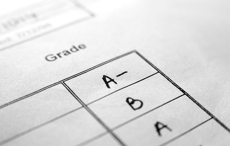 Study Says Grades Are Best Indicator of College Success