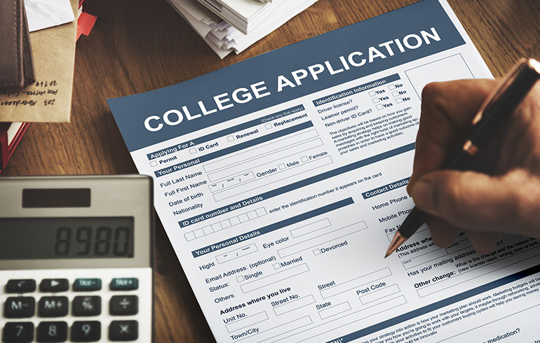 College Admissions Spur Self-Reflection